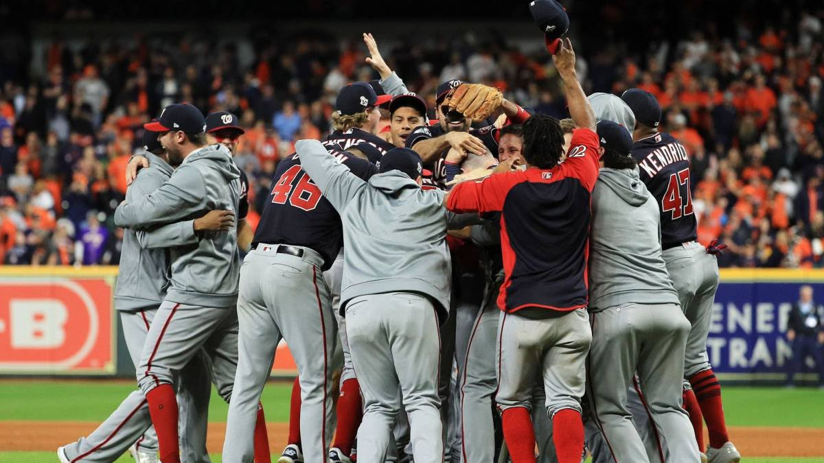 Nationales de Washington ganan la Serie Mundial